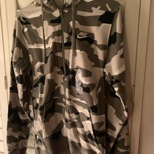 Nike sweatshirt with hood brand new with tags